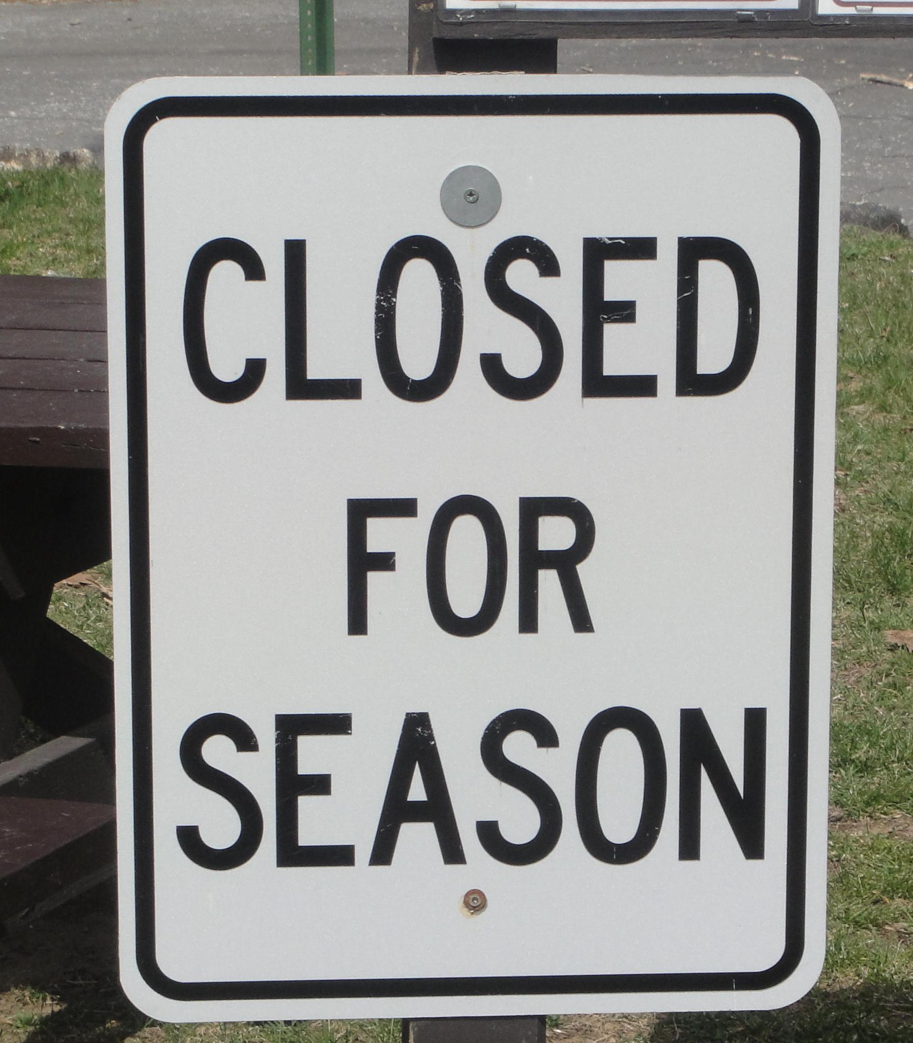 04closed For Season  Winslow Sp  The Park Explorer. Courageous Signs Of Stroke. Birth Signs. Hockey Signs Of Stroke. Dinner Signs Of Stroke. Jewelry Signs Of Stroke. Between Signs. Infarction Signs. Basketball Game Signs Of Stroke