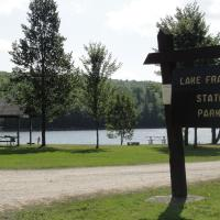23-Base Camp - Lake Francis SP