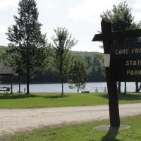 23-Base Camp - Lake Francis SP