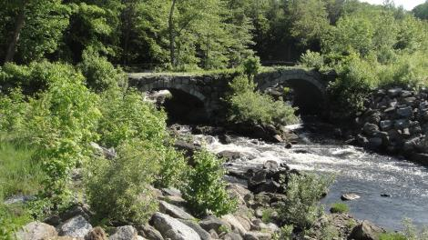 Old bridge crossing the Contoocook (N Branch)