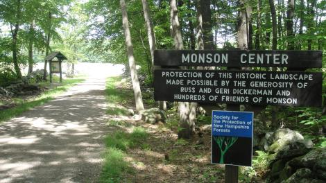 Monson Center - an authentic New Hampshire ghost town.
