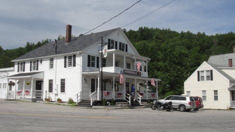 The Vernondale Store in North Sutton NH has been delightfully restored.