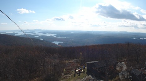 The view from the fire tower was great too!