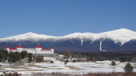 Mt. Washington and its eponymous hotel