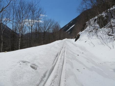 Plenty of snow for a good ski!