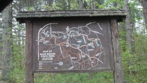 Old park map circa ??
