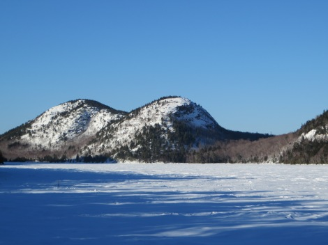 An Acadia icon: The Bubbles from Jordan Pond