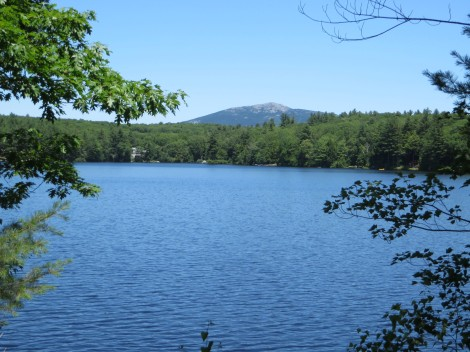 Mt.Monadnock from Rockwood Lake