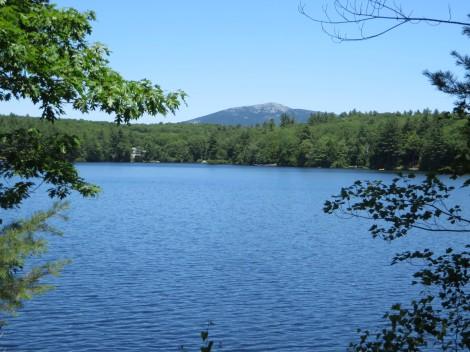 Mt.Monadnock from Rockwood Lake