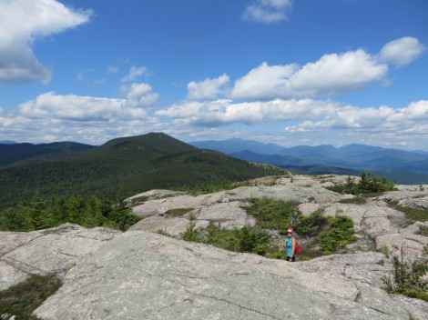 The bald top of South Moat Mountain made for great views...